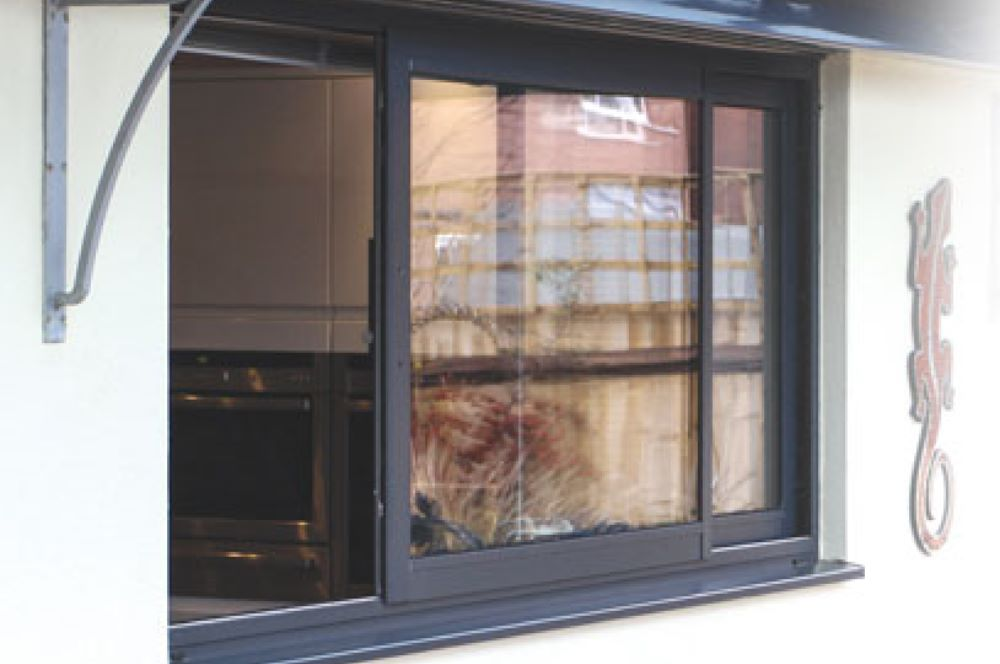 Aluminium Horizontal Sliding Window