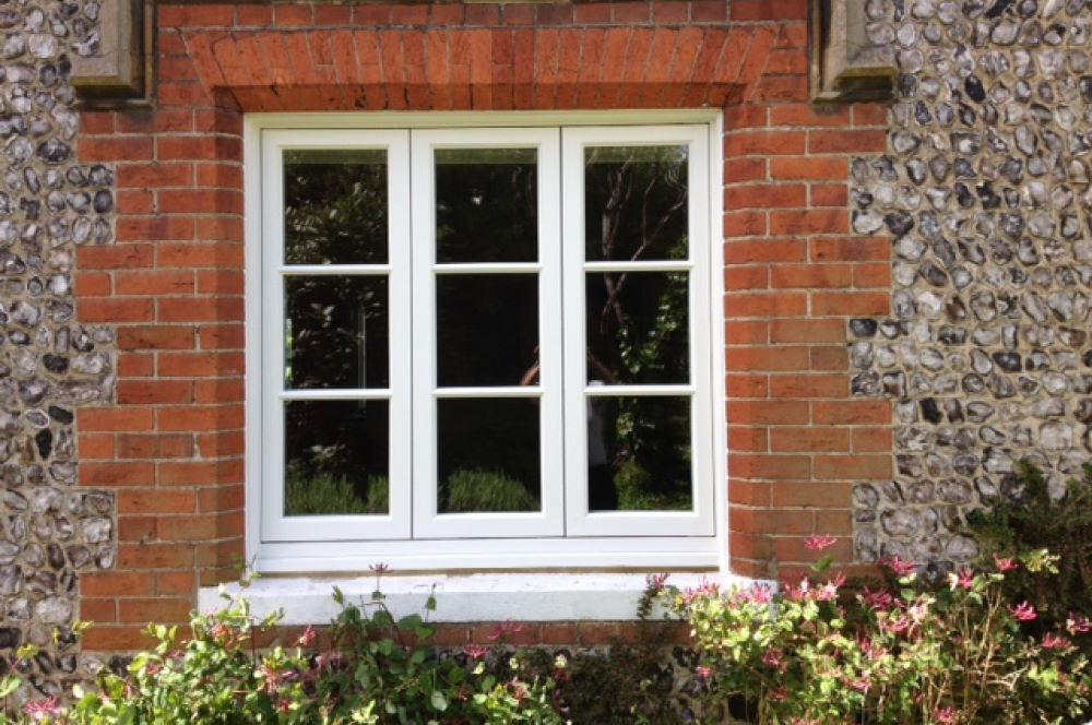 Timber cottage casement window