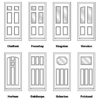 Conventional door styles